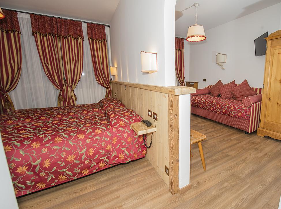 Family hotel a Cortina